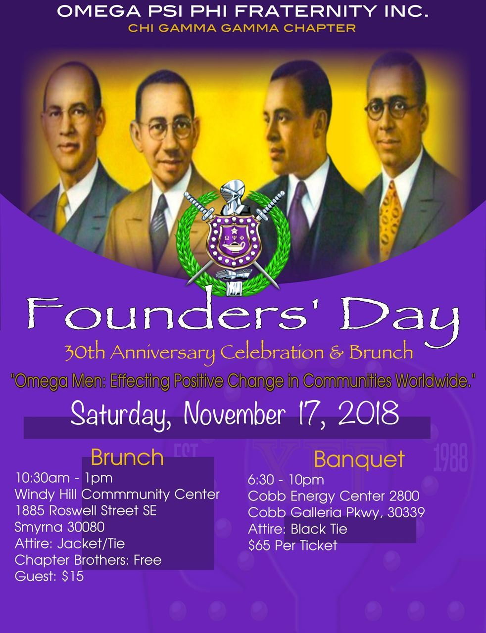 Omega Psi Phi Fraternity Inc Chi Gamma Gamma Chapter Home